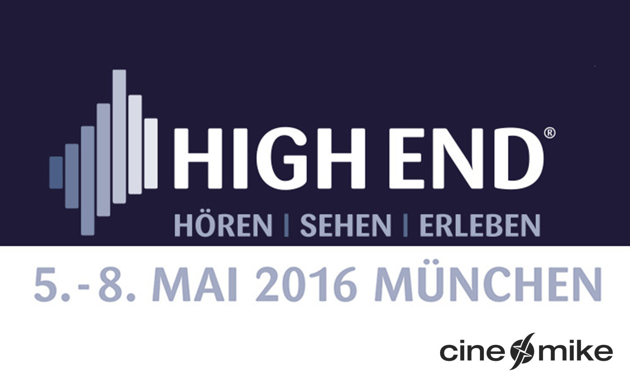 Visit us at the HighEnd in Munich
