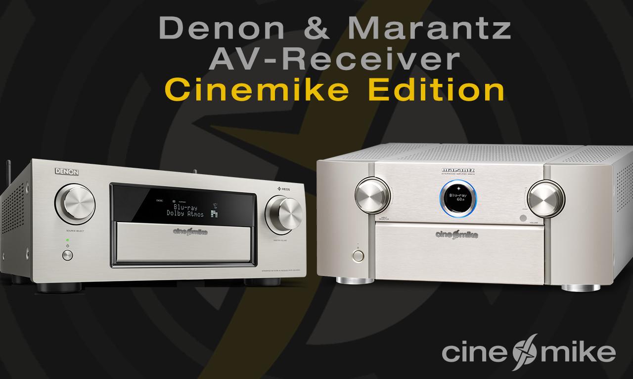 Denon & Marantz AV-Receiver 2017 2018