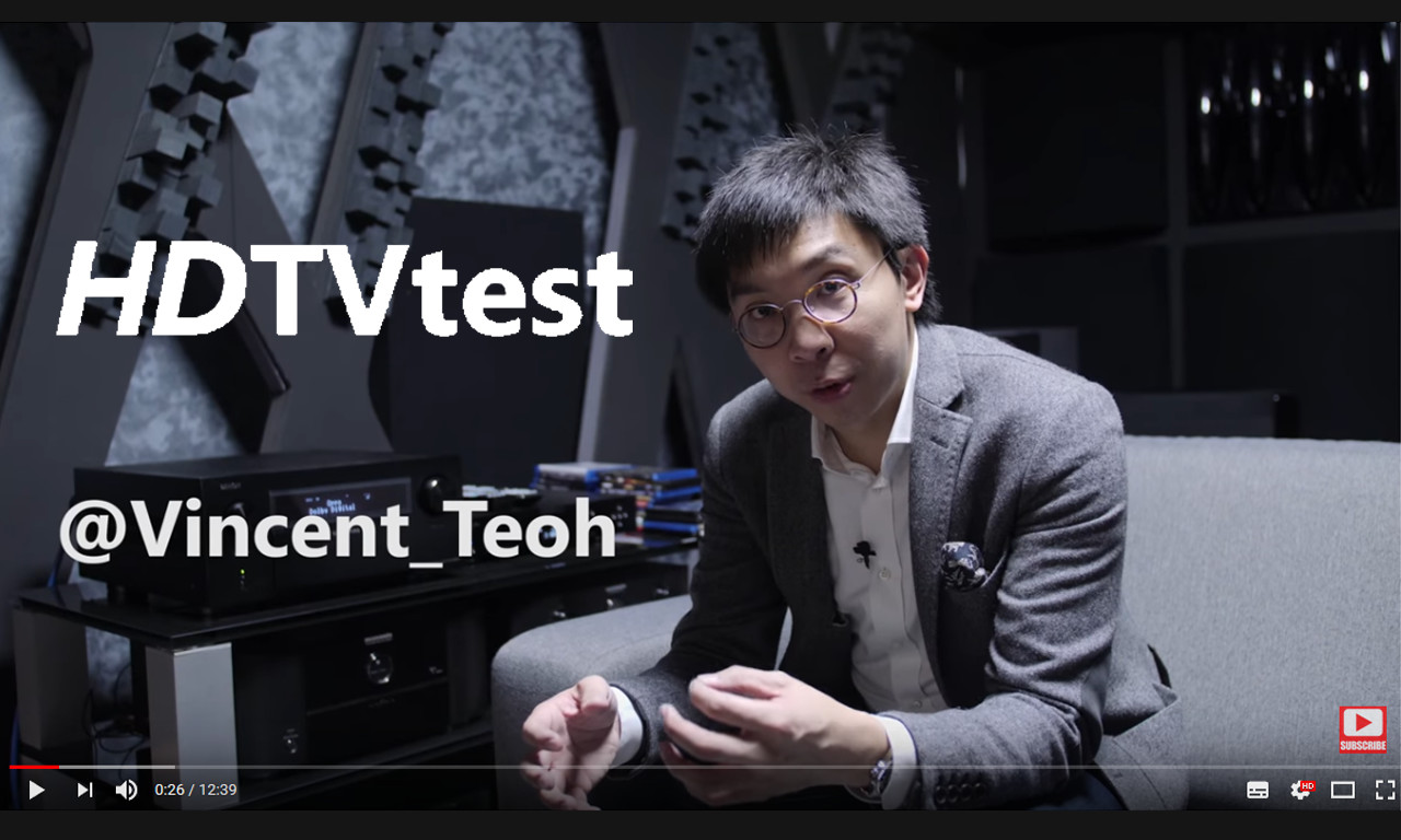 Video von Vincent Teoh / HDTVtest über Cinemike