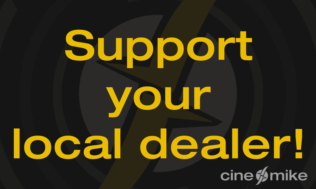 Support your local dealer!